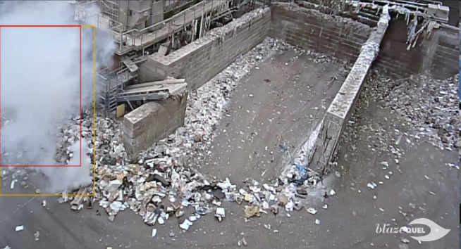 Video Fire Detection Waste Recycling